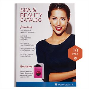 Picture of Youngevity Spa & Beauty 2018 Catalog 10 Pack